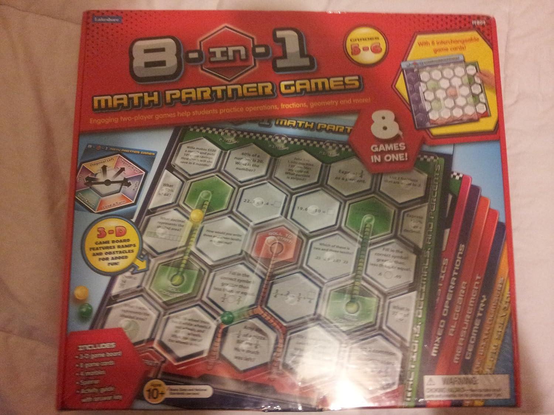 8 in 1 Math Partner Games