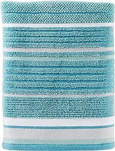 SKL Home by Saturday Knight Ltd. Seabrook Stripe Bath Towel, Teal
