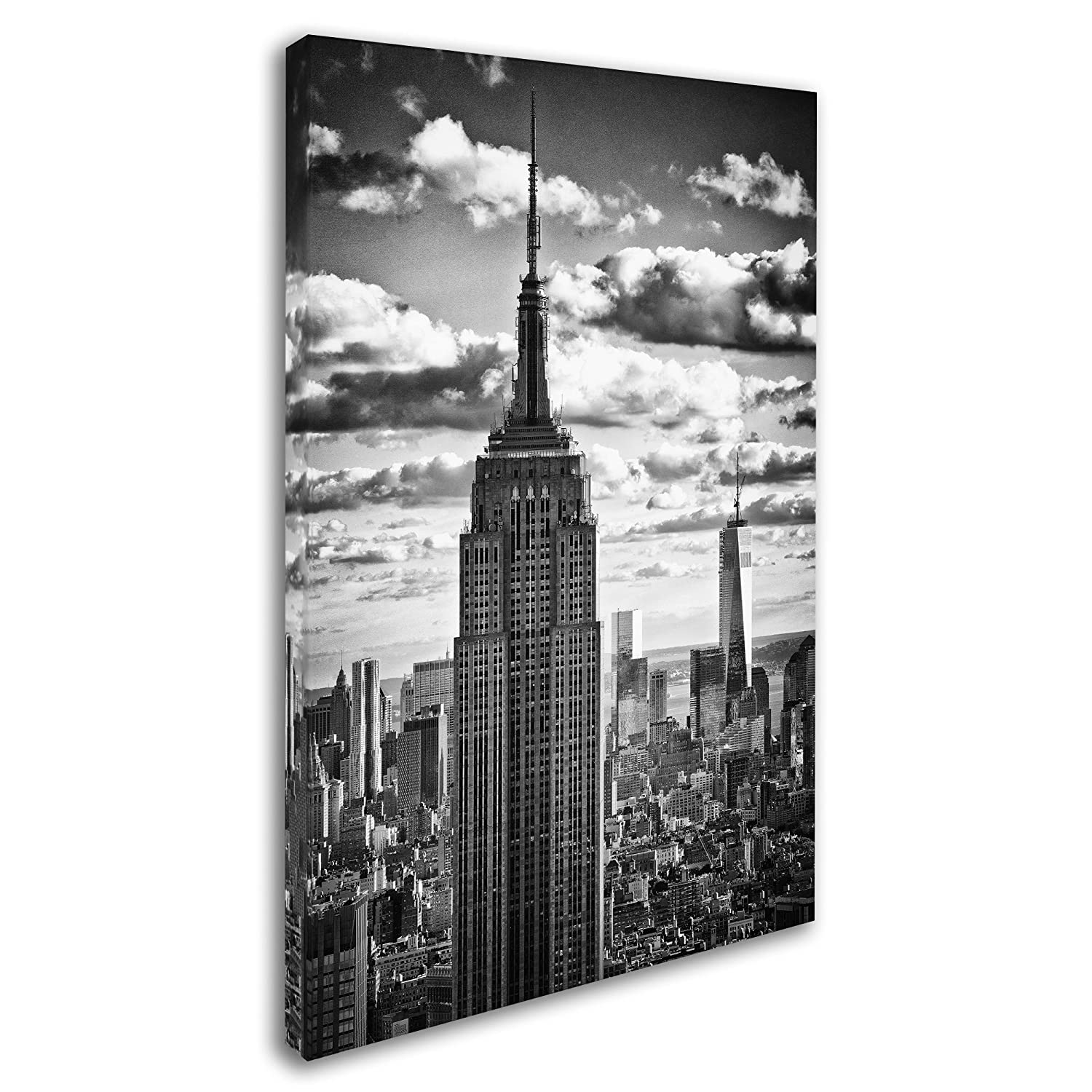 New York Skyscrapers by Philippe Hugonnard, 16×24-Inch Canvas Wall Art
