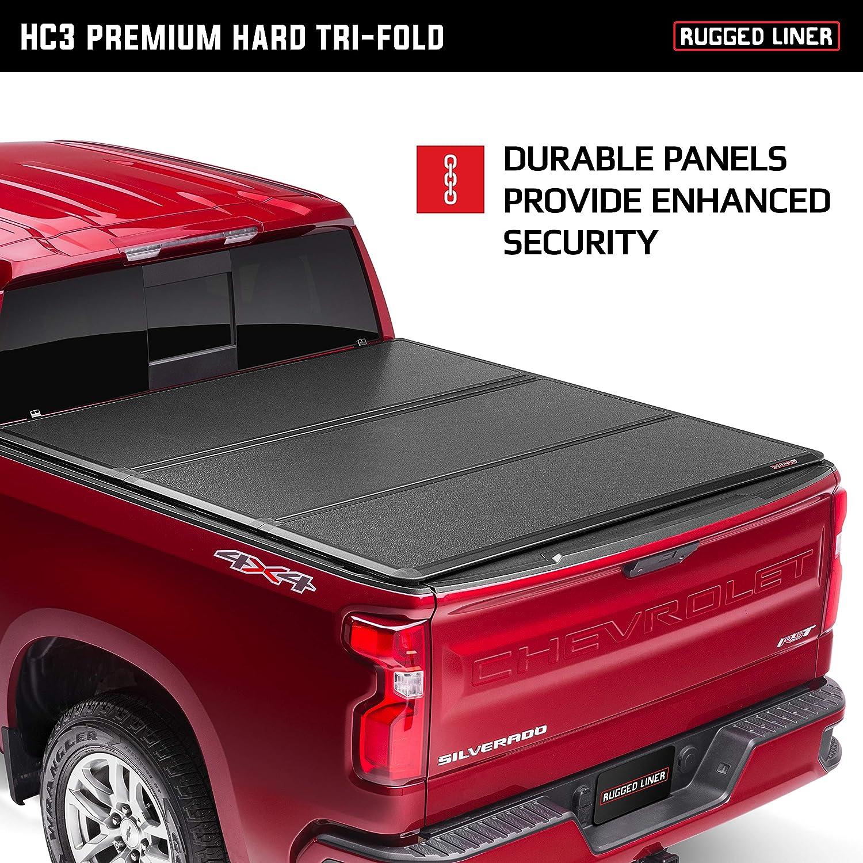 Rugged Liner E Series Soft Folding Truck Bed Tonneau Cover E3 Hrl17 Fits 2017 2020 Honda Ridgeline 5 Bed Exterior Accessories Truck Bed Tailgate Accessories