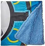 Colchas Concord Thomas and Friends Cobertor con Borrega Viaje, color Azul