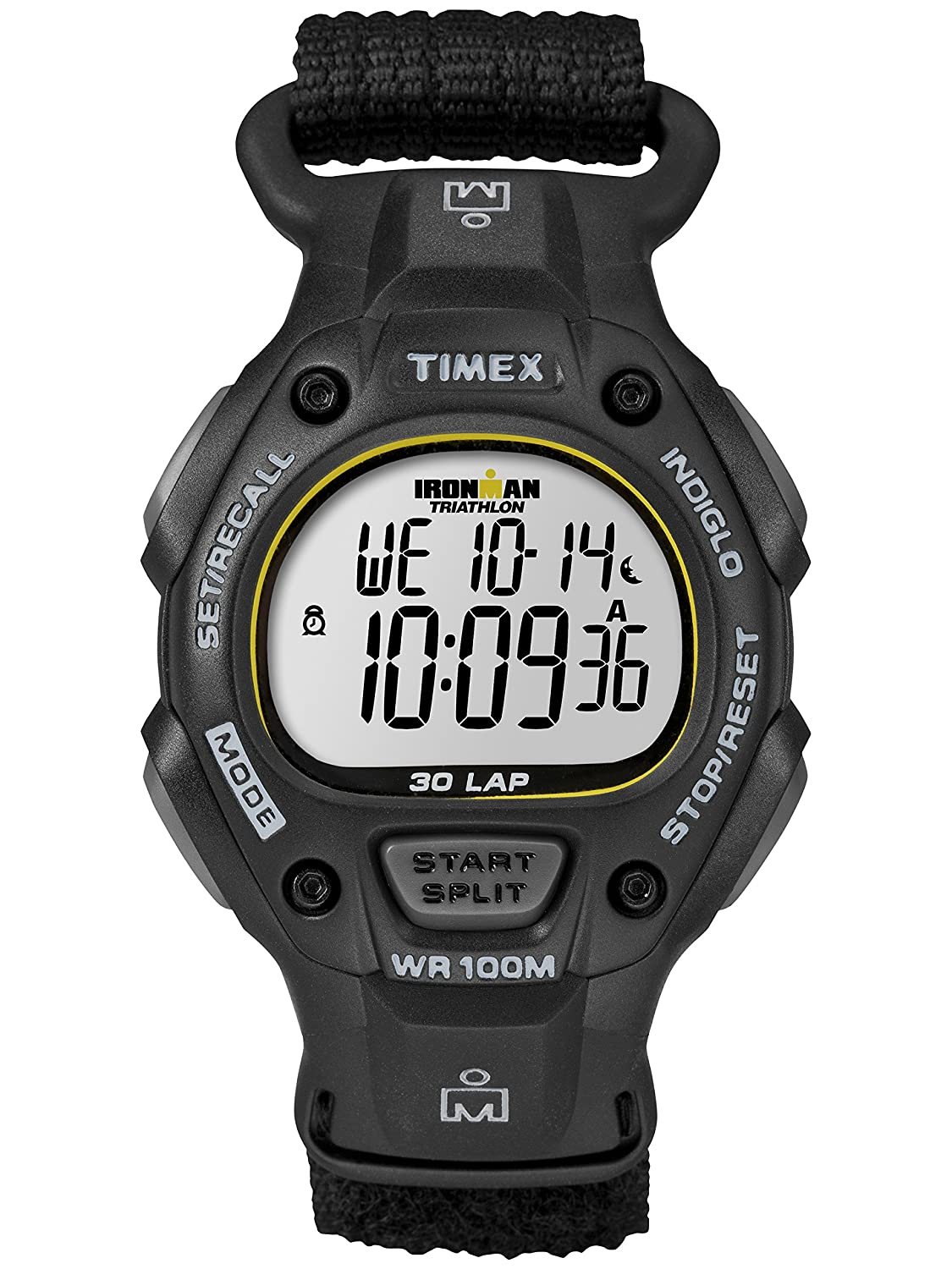 Amazon.com: Timex Mens Ironman Classic 30 Full-Size Watch, Black Fast Wrap Strap Dads Gift Fathers Day: Cell Phones & Accessories