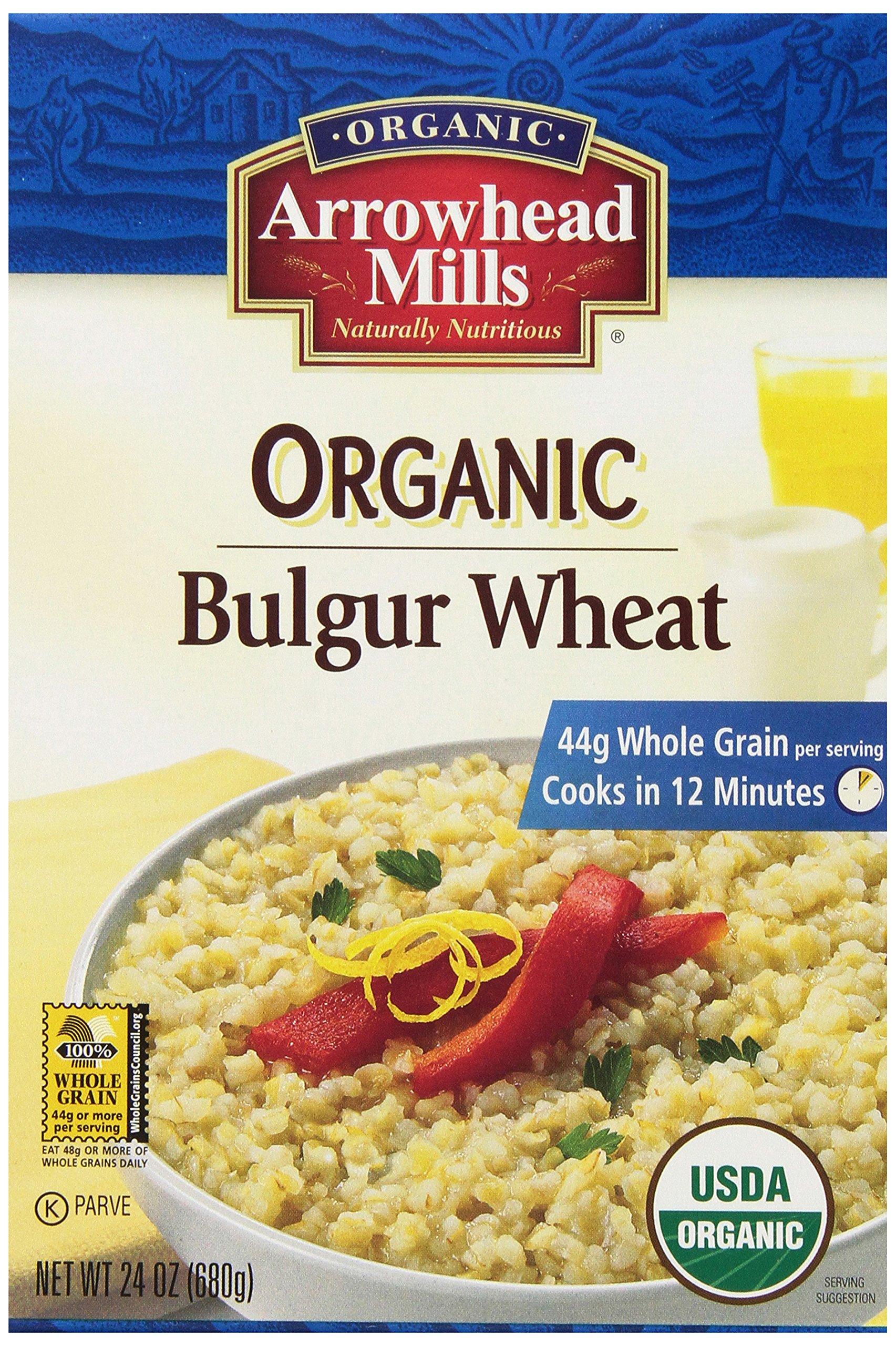 Arrowhead Mills Organic Bulgur Wheat, 24 oz. (Pack of 12) by Arrowhead Mills