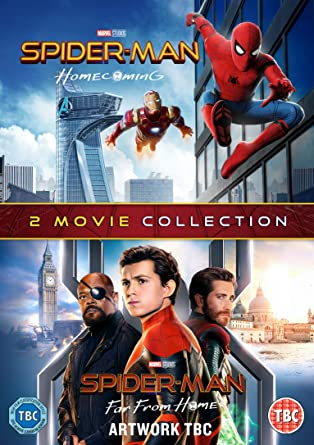 Spider-Man: Far From Home & Spider-Man : Homecoming DVD 2019