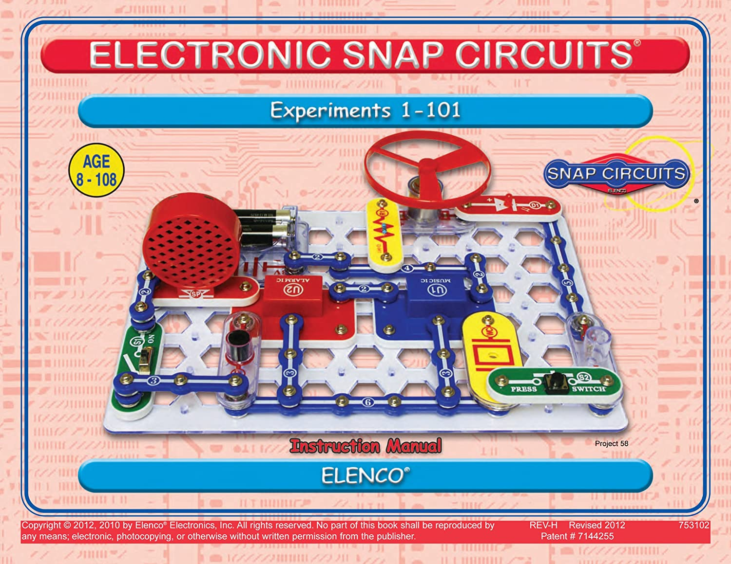 Snap Circuits Jr Sc 100 With Student Teacher Guides Extreme 750 Review Toys Games