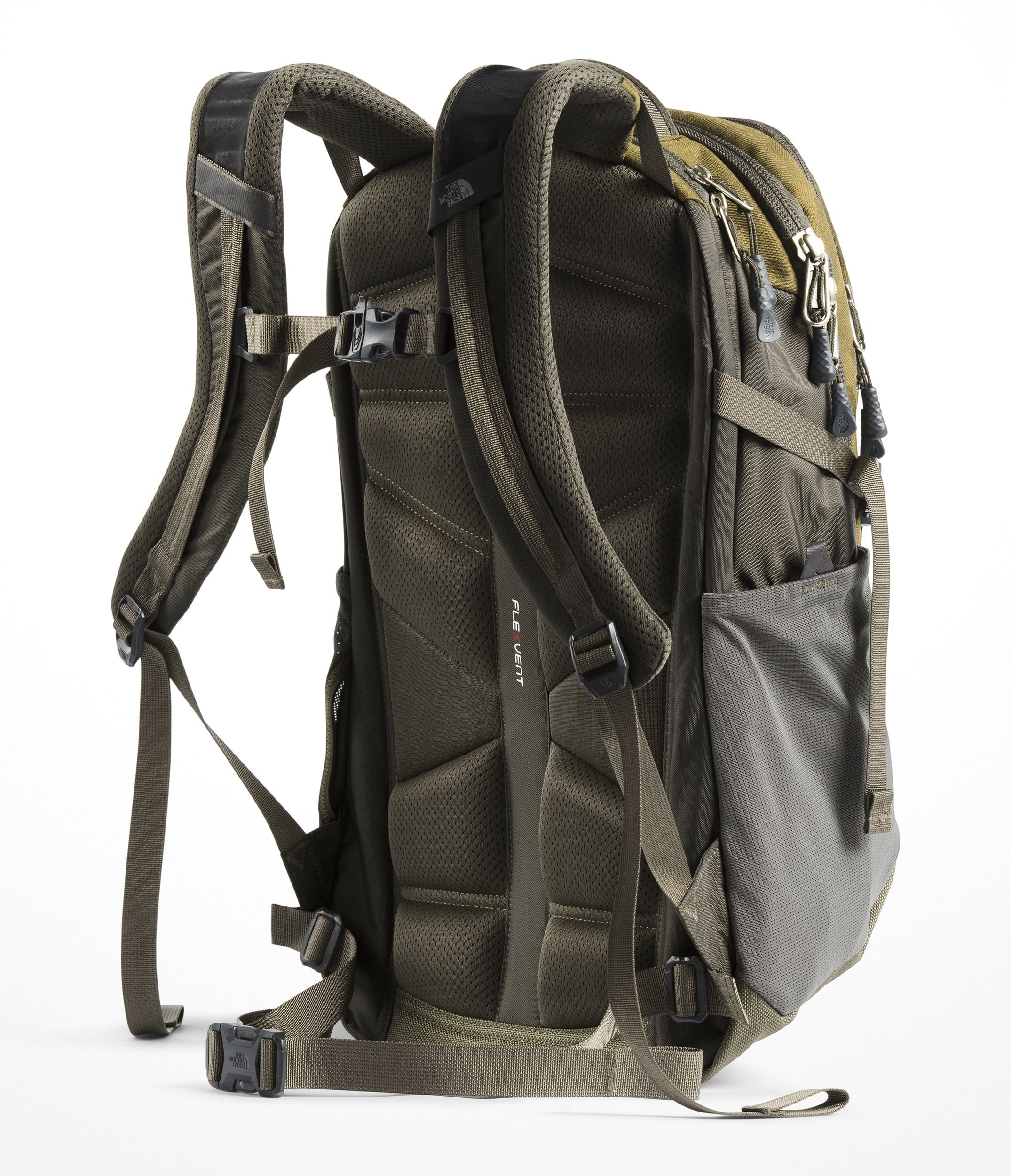 The North Face Recon Backpack - Fir Green Camo Print & New Taupe Green - OS