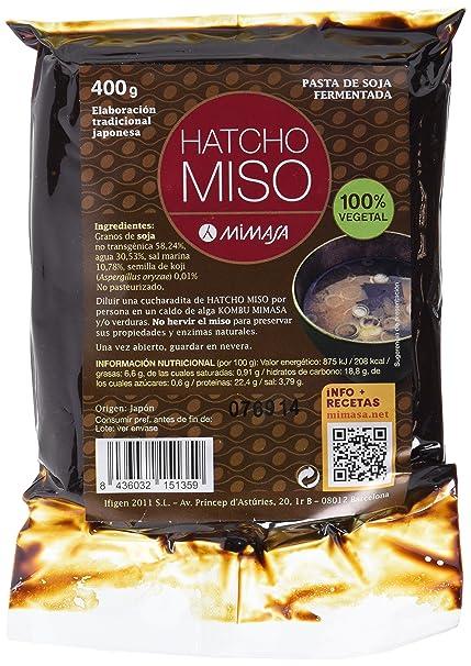 MIMASA HATCHO MISO (CEBADA) 300G NO PASTEURIZADO: Amazon.es ...