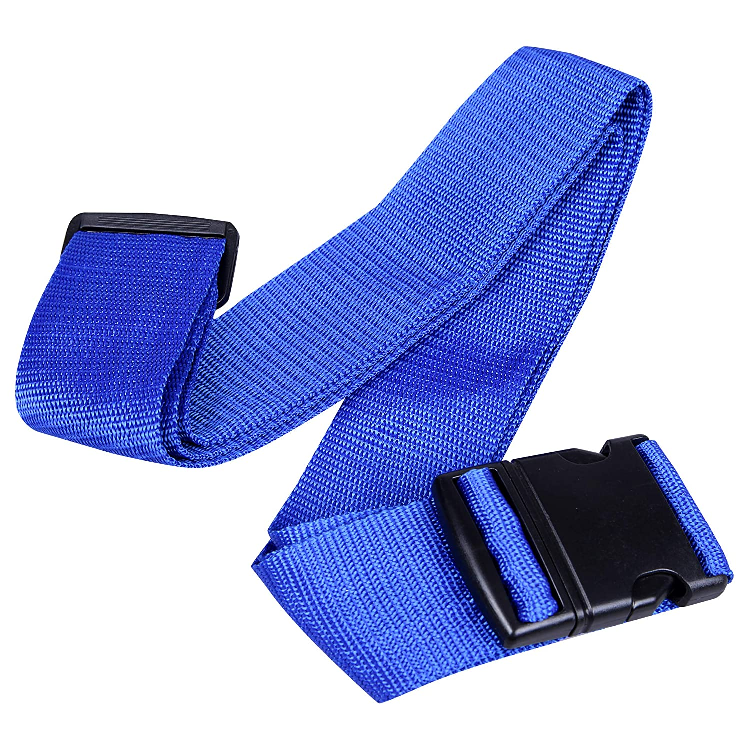 Cartman Luggage Straps Suitcase Belts Travel Bag Accessories 2Pack 200cm 78inch Blue