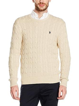 Polo Ralph Lauren Jersey Otoño/Invierno 16 CBL-fit Beige XL ...