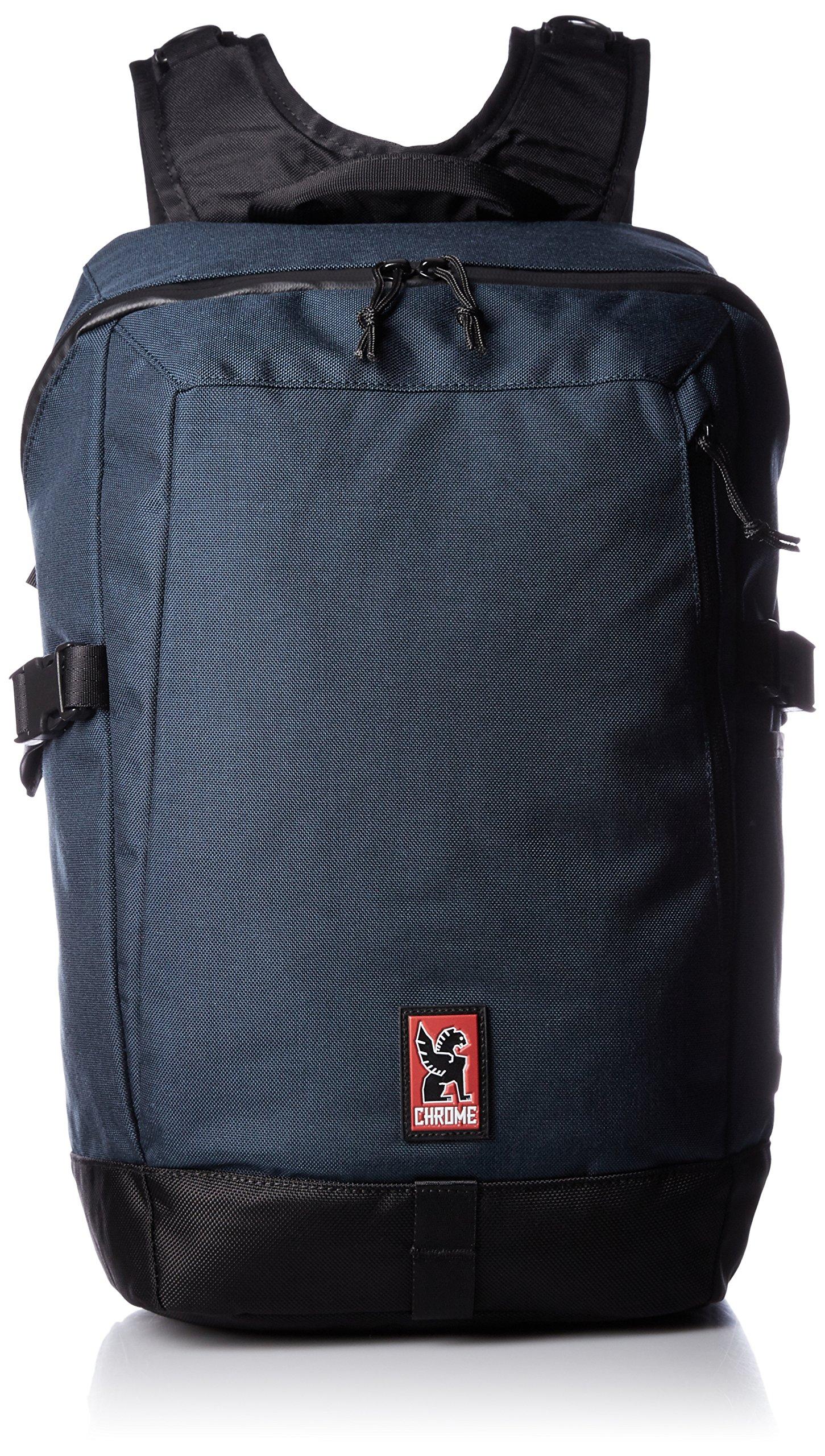 Chrome BG-187-IN Indigo/Black One Size Rostov Backpack