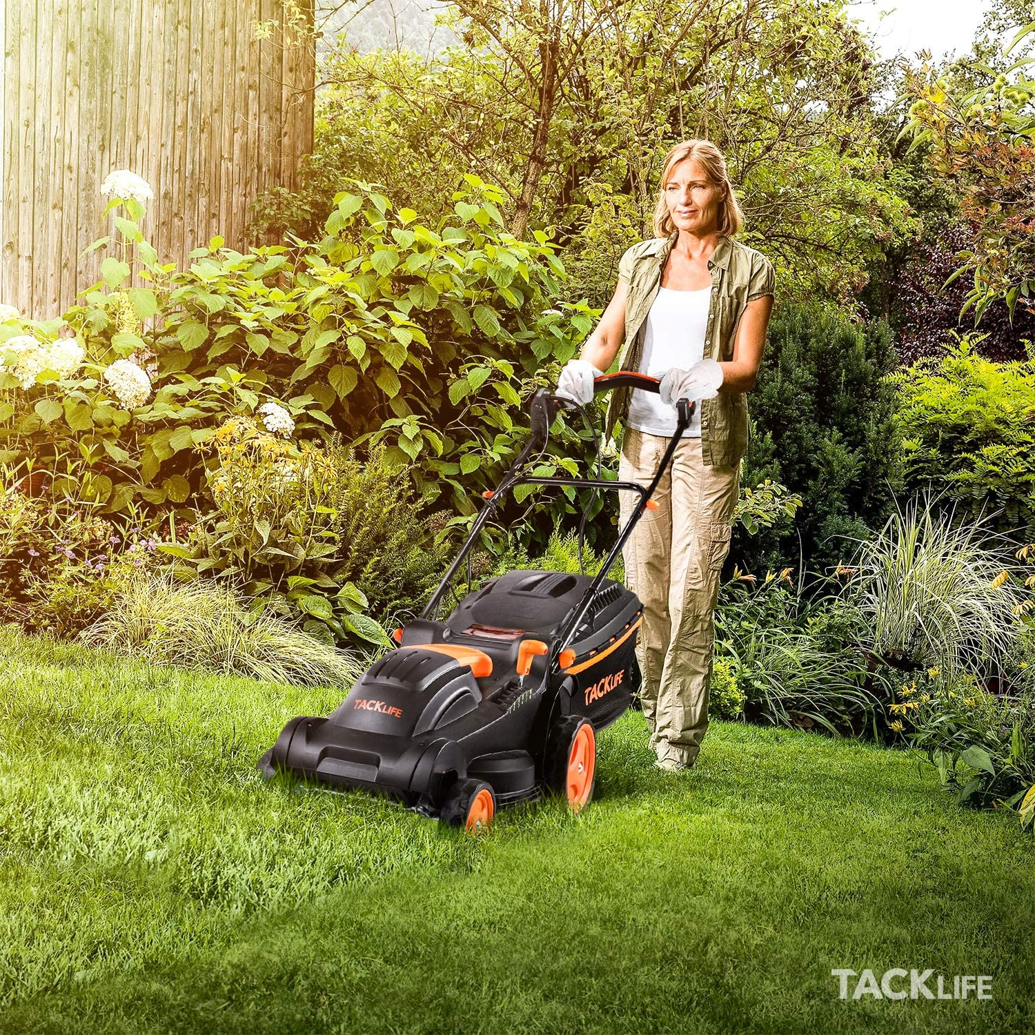 TACKLIFE best Electric Lawn Mower