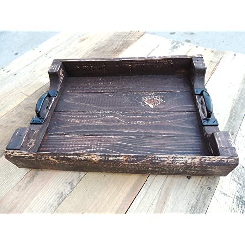 Large Wooden Coffee Table Tray: Serving Plank: Amazon.com