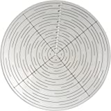 """Taytools 114601 10"""" Round Center Finder Compass for Wood Turners Lathe Work"""