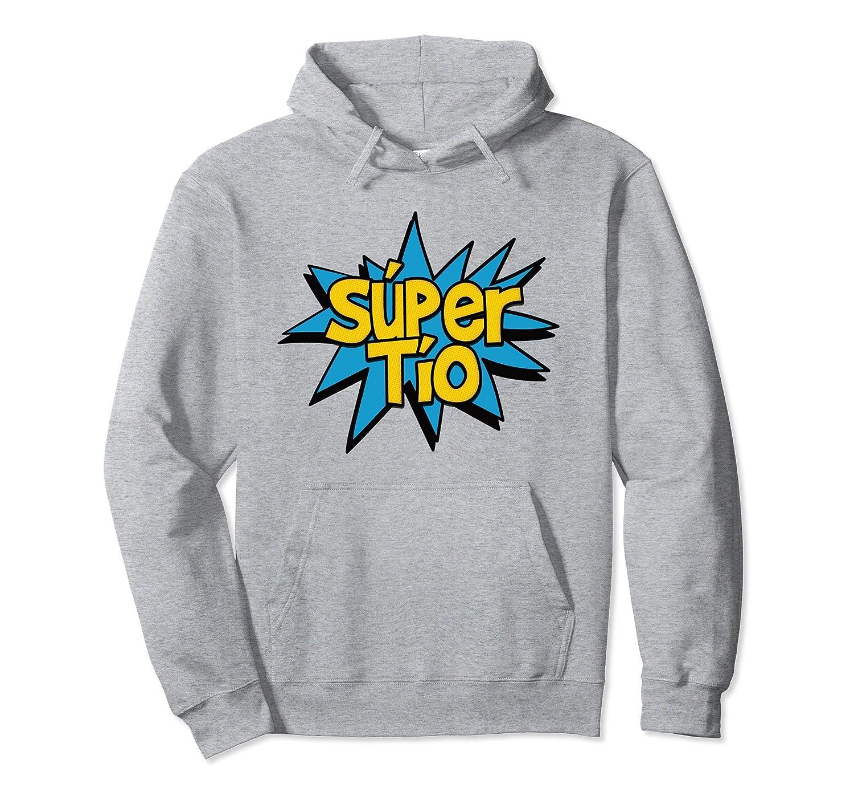 Amazon.com: Super Tio - Spanish Uncle Comic Book Hero Hoodie Sweatshirt: Clothing