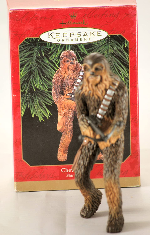 Amazon.com: Chewbacca Star Wars 1999 Hallmark Keepsake Christmas ...