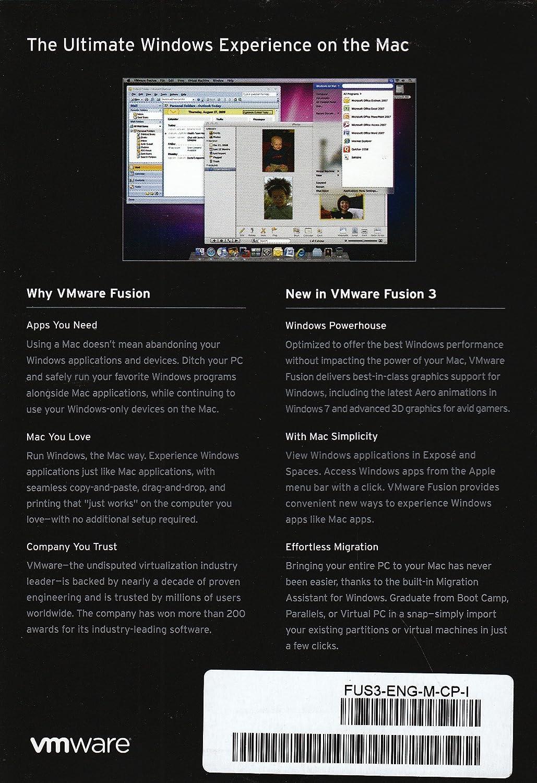 VMware Fusion 3 [OLD VERSION]