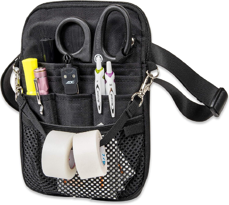 First Lifesaver 4 en 1 Convertible Enfermera Fanny Pack, Negro: Amazon.es: Bricolaje y herramientas