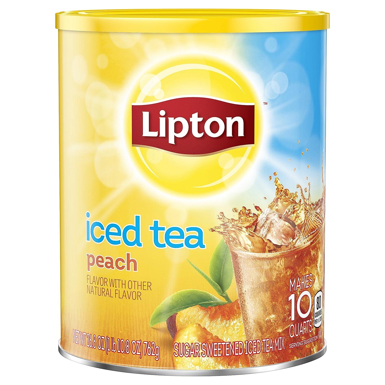 Lipton Iced Tea Mix, Peach 10 qt