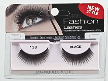 57ef77bf615 Amazon.com : Ardell Fashion Lashes Pair - 138 (Pack of 4) : Fake Eyelashes  And Adhesives : Beauty