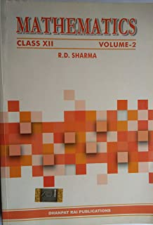 mathematics class xii old edition amazon in r d sharma books