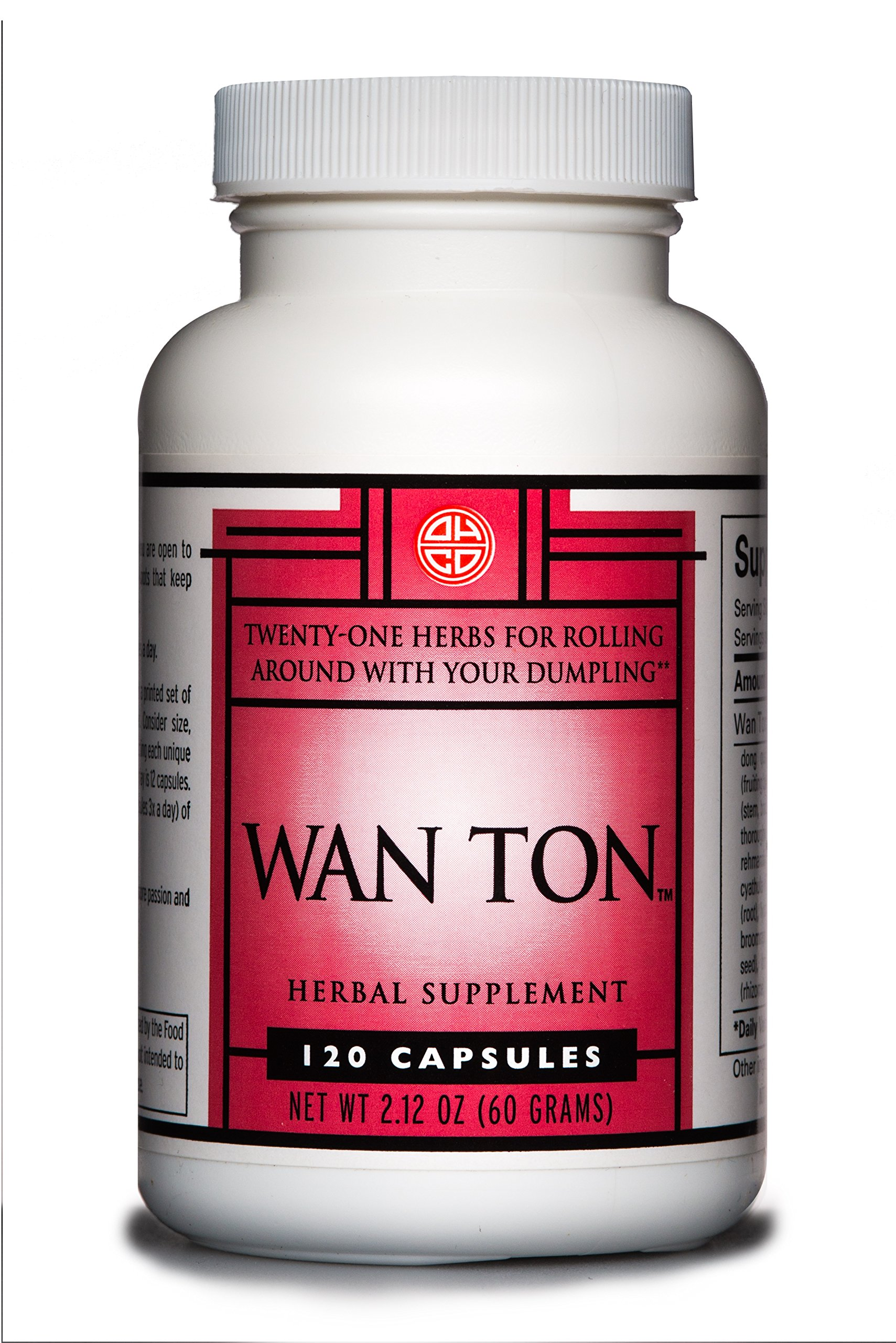 OHCO Wan Ton - Alternative Medicine Herbal Supplement for Sexual Wellness, Libido, Enhanced Sexual Energy, Depression and Stress Support - Natural Remedy for Men and Women {120 Capsules}