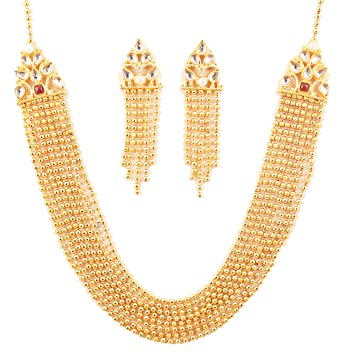 "7a83d5b47 NEW! Touchstone""Rani Haar Collection"" long multi layer Indian  Bollywood Classical Mughal Kundan"
