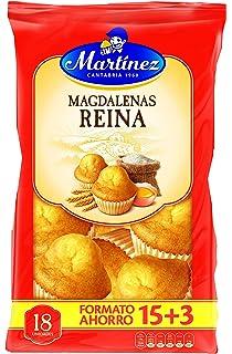 Martínez - Magdalenas Reina 15 + (3 unidades), 615 g