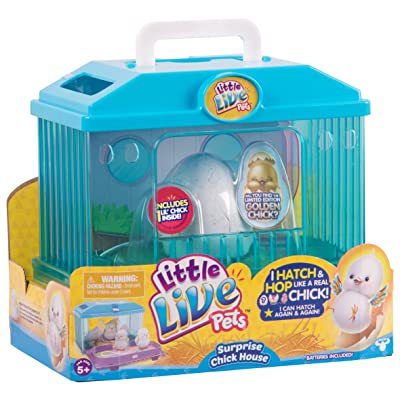 Little Live Pets Season 1 Baby Chick Habitat Toy: Toys & Games