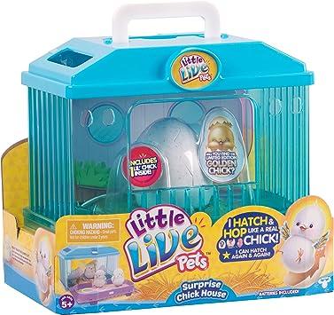 Little Live Pets 28325 Surprise Chick Huhnerhaus Spielzeug Amazon De Spielzeug