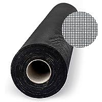 Bescherming tegen insecten gaas zwart 200cm - per meter (zwart)