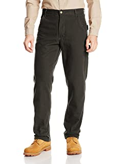 904f9e1c888 Key Apparel Men's Performance Comfort Fleece Lined Dungaree with Teflon  Fabric Protector