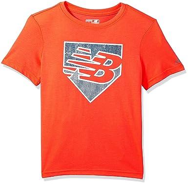 7ad33513c9 Amazon.com: New Balance Boys' Short Sleeve Graphic Tee: Clothing
