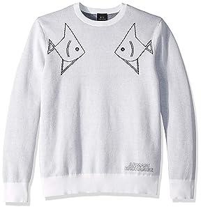 ARMANI EXCHANGE A|X 阿玛尼刺绣男式卫衣 2.1折$44.6起 海淘转运到手约¥368 中亚Prime会员免运费直邮到手约¥355