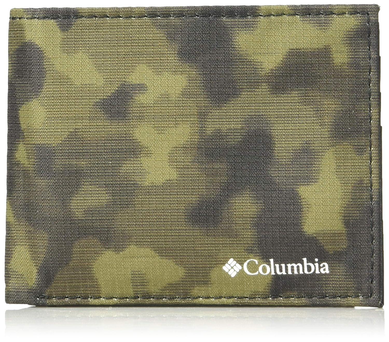 columbia men s rfid blocking nylon slimfold