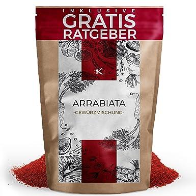 Arrabiata mezcla de especias finas 100g - Hierbas italianas para Penne Arrabiata - Especialidad de especias