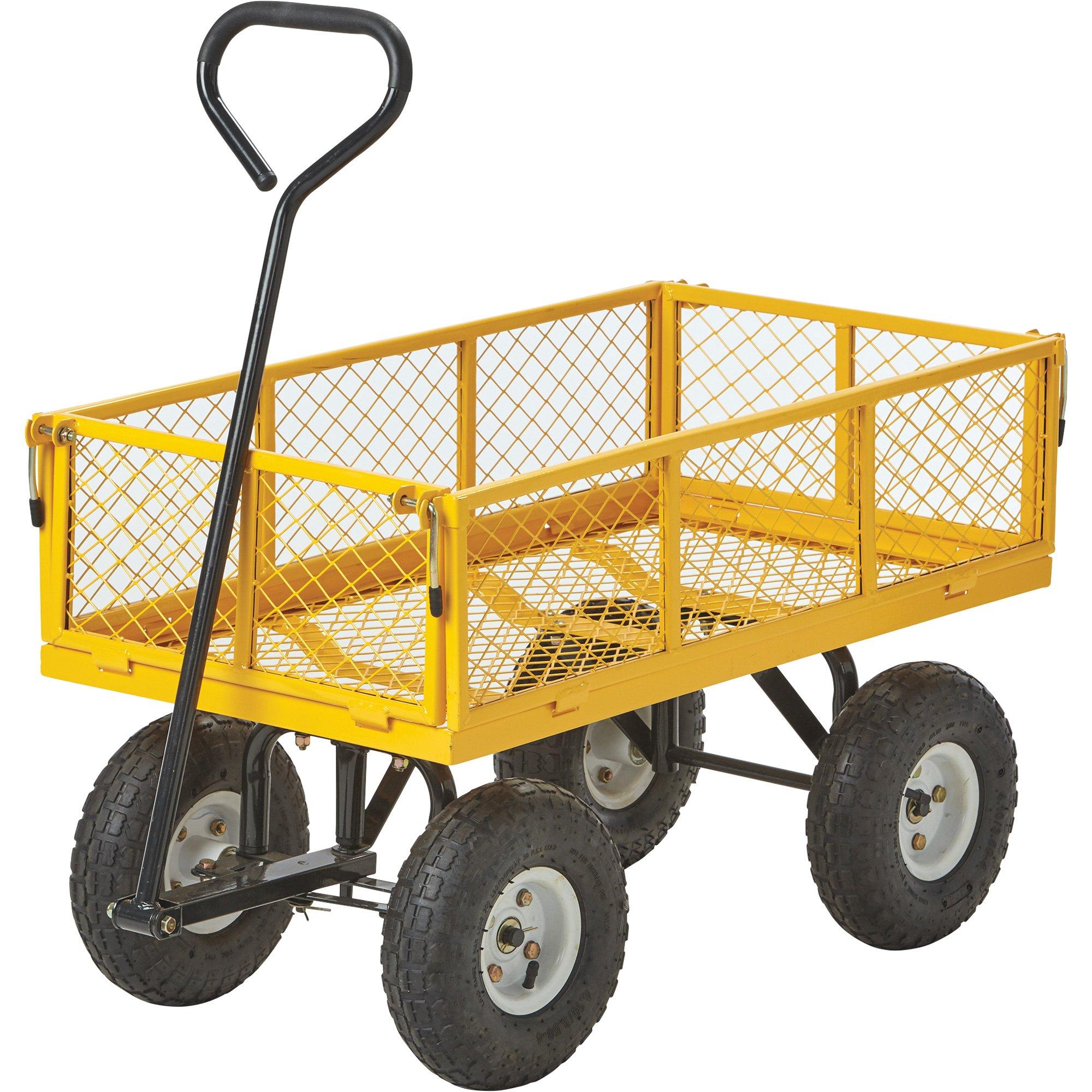 Kotulas 400-Lb. Capacity Steel Garden Wagon