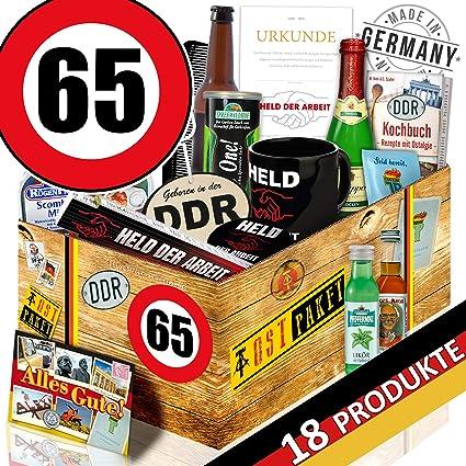 Manner Paket Ddr Geburtstag 65 Geschenk Korb Fur Opa Amazon De