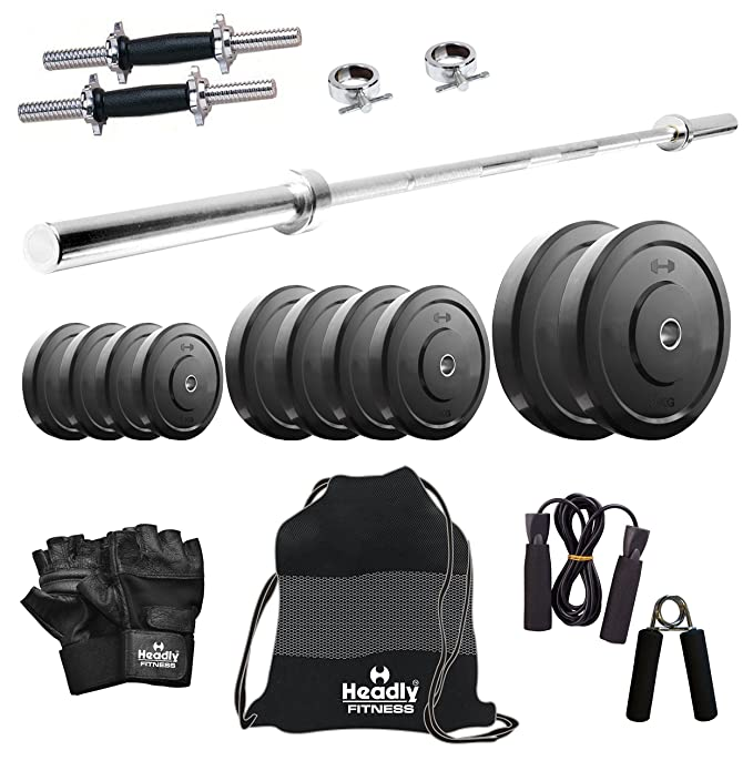 Headly 10kg Combo 9 Home Gym Exercise Sets