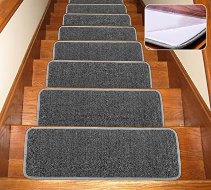 Soloom Non Slip Stair Treads Carpet With Anti Skid Rubber Backing