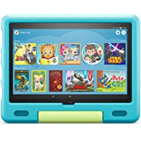 Amazon Kid-Proof Case for Fire HD 10 tablet (Only compatible with 11th generation tablet, 2021 release) – Aquamarine