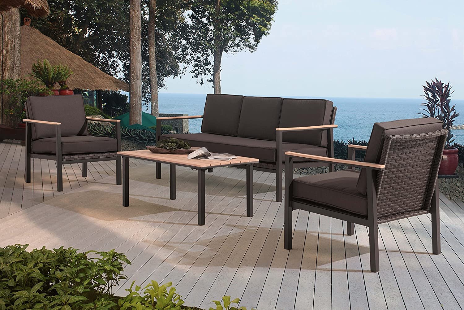 Sunjoy Vail Deep Seating Set