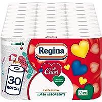 Regina Carta Cucina Regina di Cuori - Pacco da 30 rotoli