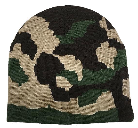 24d11e5b0 N'Ice Caps Kids Double Knit Camo Beanie Hat