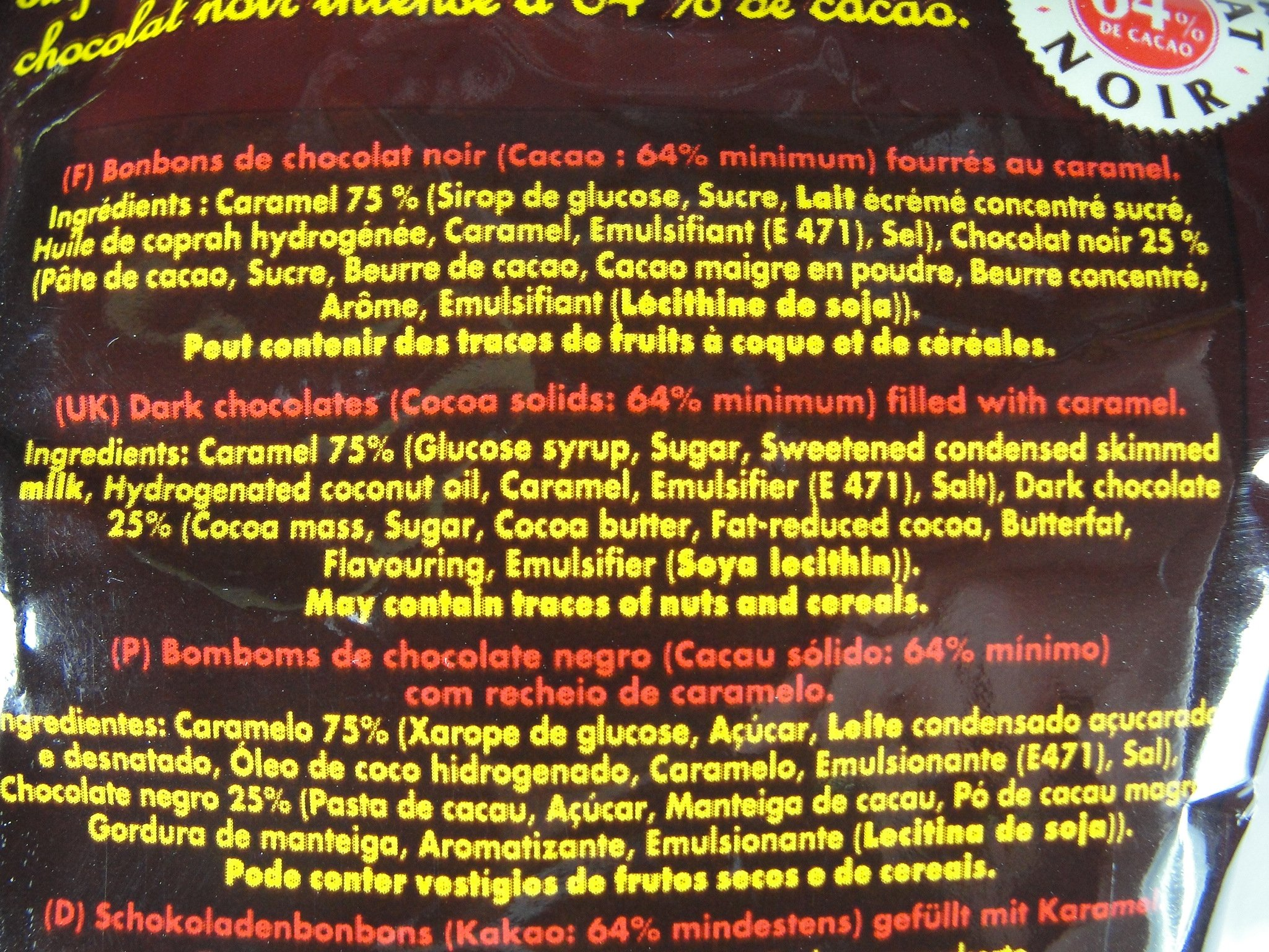 Michoko Caramel Candies From France, 100 gr 3.5 oz bag, Six by La Pie qui Chante