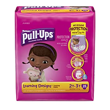 Huggies Pull-Ups Training Pants - Learning Designs - Girls - 2T-3T -