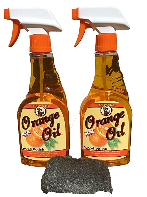 Fine Howard Orange Oil 16 Ounce X Two Bottles Clean Kitchen Cabinets Best Hardwood Floor Cleaner Orange Wood Cleaner Interior Design Ideas Helimdqseriescom