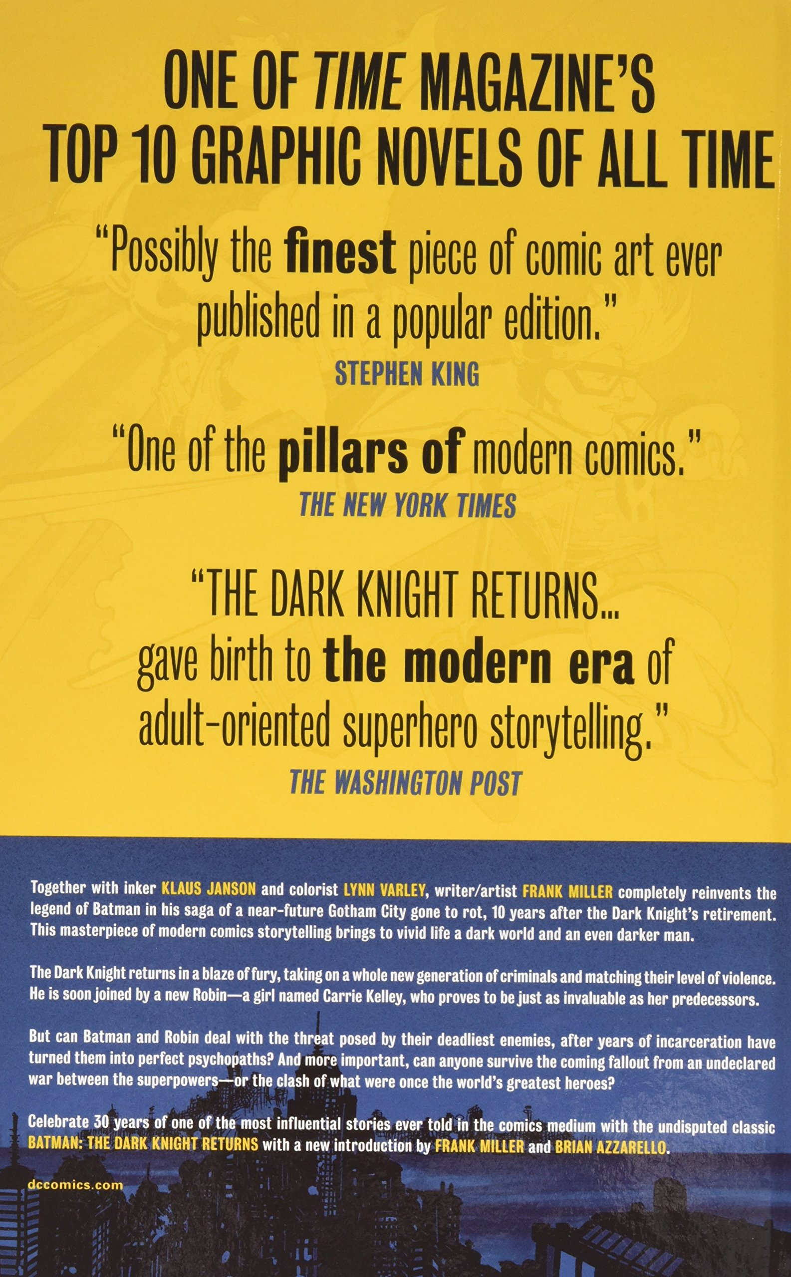 Batman  The Dark Knight Returns Book   DVD Set  Amazon.in  Frank Miller   Books 6dacc1a8f3f