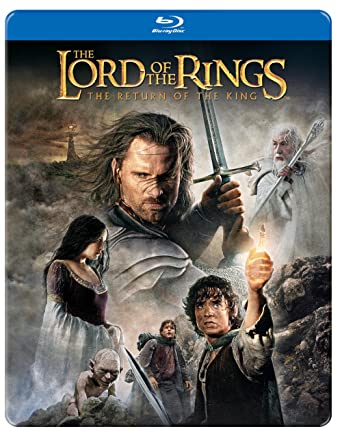 Amazon lord of the rings the return of the king blu ray lord of the rings the return of the king blu ray steelbook malvernweather Image collections