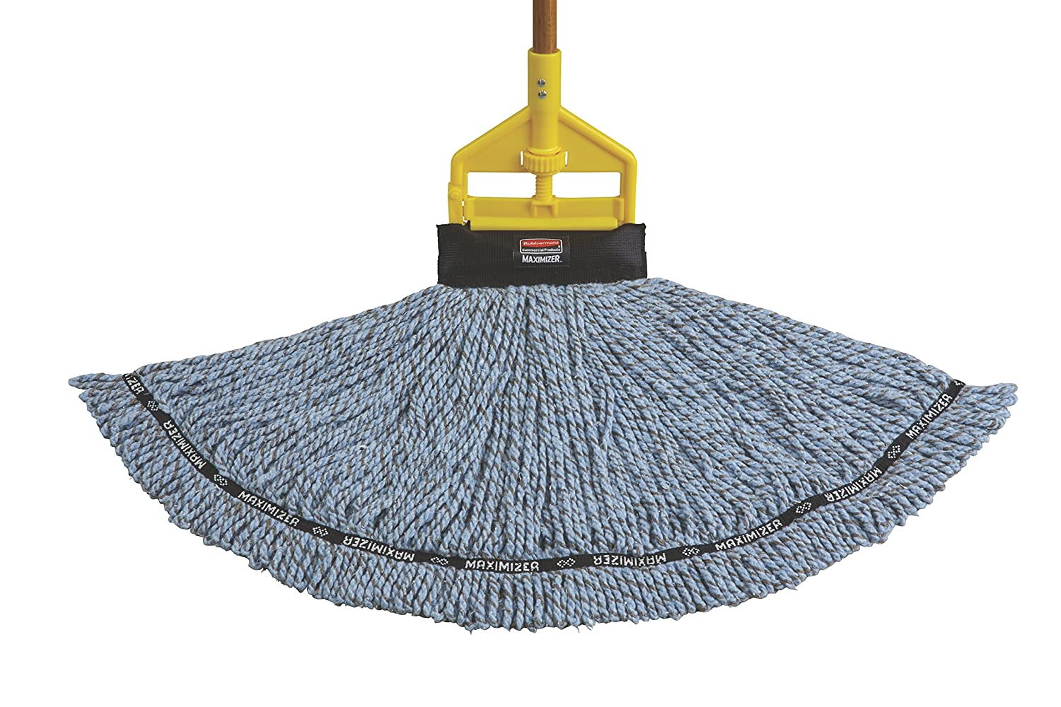 Rubbermaid Commercial 1924782 Maximizer Mop Head Free New Blue Large Blend