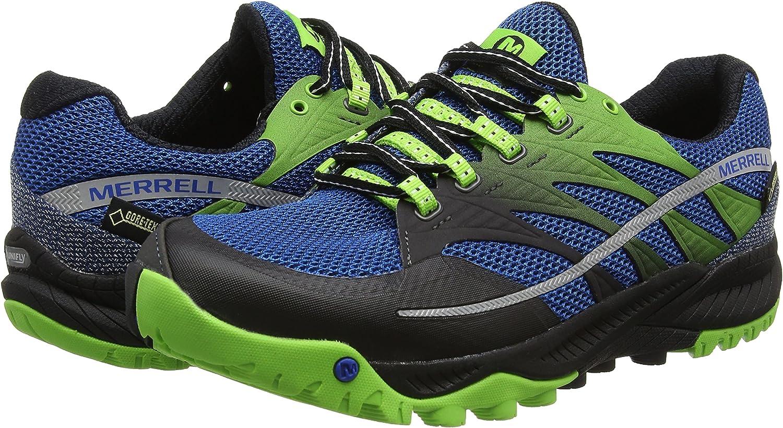 Merrell All Out Charge Gtx - Zapatillas de running Hombre, Blue Dusk, 40 EU: Amazon.es: Zapatos y complementos